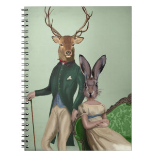 Mr Deer and Mrs Rabbit 2 Notebooks