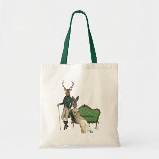 Mr Deer and Mrs Rabbit Tote Bag