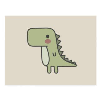 Mr Dinosaur Postcard