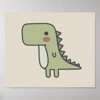 Mr Dinosaur Poster