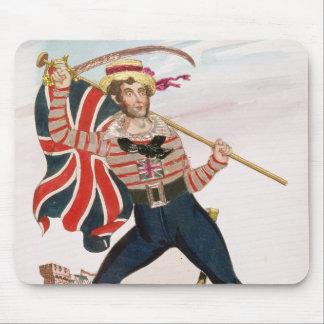 Mr E.F. Saville as 'Union Jack Mouse Mat