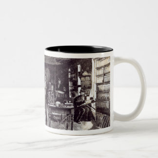 Mr Edison , The Eminent Electrician Two-Tone Mug