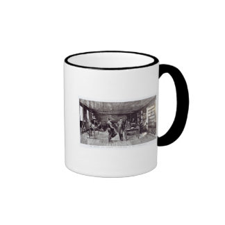 Mr Edison , The Eminent Electrician Ringer Mug