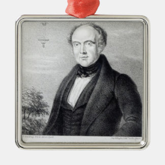 Mr. Edward Spencer, lithograph by Day & Haghe Christmas Ornament