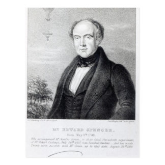 Mr. Edward Spencer, lithograph by Day & Haghe Postcard