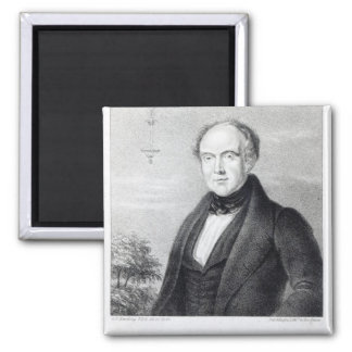 Mr. Edward Spencer, lithograph by Day & Haghe Square Magnet