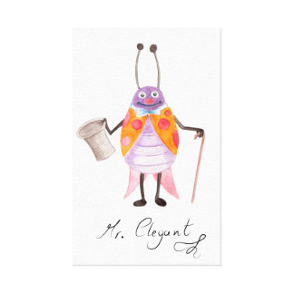 """Mr. Elegant"" Kids Canvas Print 13.60"" x 21.87"""