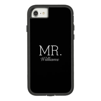 Mr Elegant Script Name Case-Mate Tough Extreme iPhone 8/7 Case