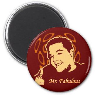 Mr. Fabulous 6 Cm Round Magnet