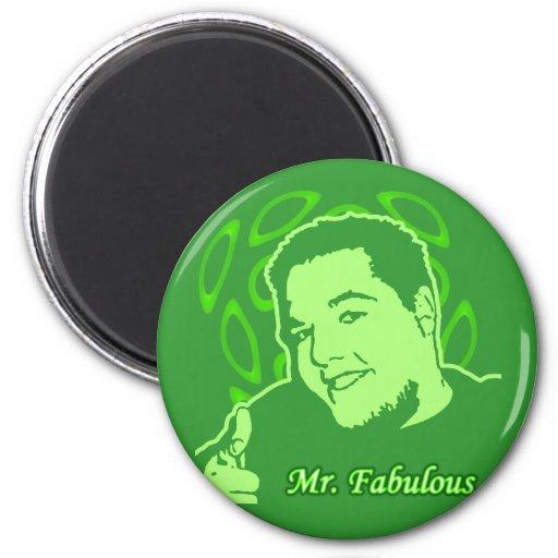 Mr. Fabulous Refrigerator Magnet