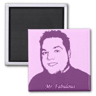 Mr. Fabulous ver. 2 Refrigerator Magnets