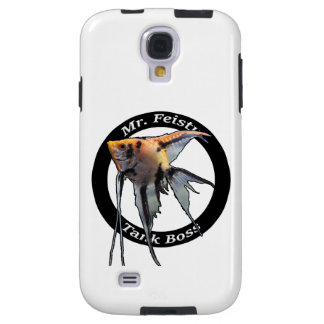Mr. Feisty Tank Boss Cell Phone cover