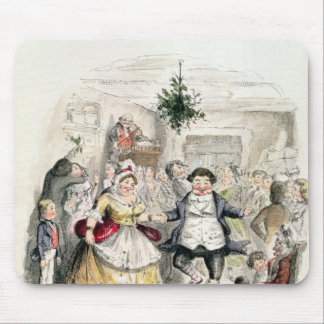 Mr Fezziwig's Ball, from 'A Christmas Carol' Mouse Mat