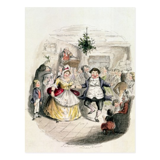 Mr Fezziwig's Ball, from 'A Christmas Carol'