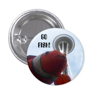 MR Fish Goes to Seattle Pins