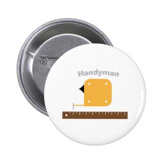 Mr. Fix It 6 Cm Round Badge