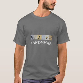Mr.Fix It Men's Working  Tools  Light Bulb Wrench T-Shirt