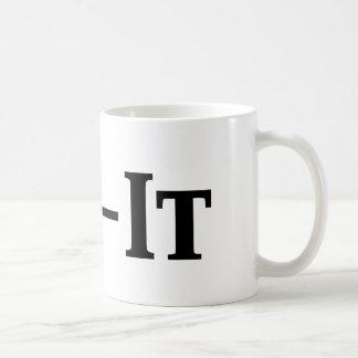 mr fix it basic white mug