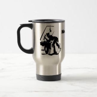 Mr Fix It Mugs, add name Travel Mug