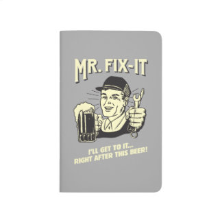 Mr. Fixit: After this Beer Journal