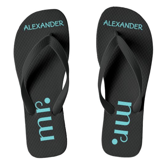 Mr. Flip Flops | Grooms Wedding