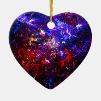 Mr. Flitter Ceramic Heart Decoration