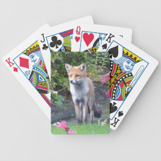 Mr Fox Bicycle Playing Cards