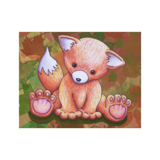 Mr Fox Canvas Print