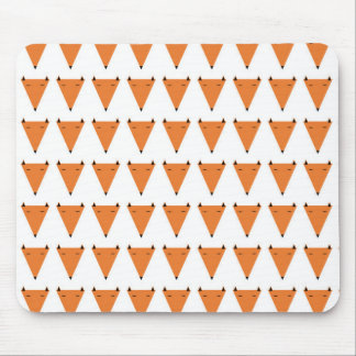 Mr Fox Pattern Mouse Mat