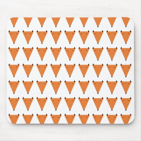 Mr Fox Pattern Mouse Mat