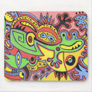 Mr. Froggy Mouse Pad