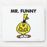 Mr Funny Classic 1 Mousepads