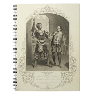 Mr G. V. Brooke as Othello and James Bennett as Ia Notebook