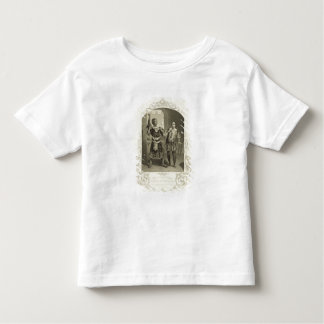 Mr G. V. Brooke as Othello and James Bennett as Ia Toddler T-Shirt