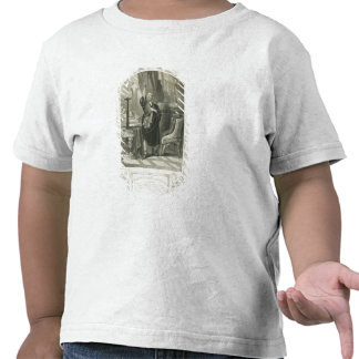 Mr George Bennett as Apemantus, Act I Scene 2, in Tshirts