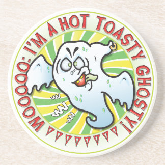 Mr Ghost Toasty Drink Coasters