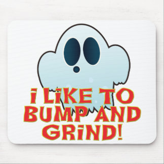 Mr Ghosty Bump Grind Mouse Pad