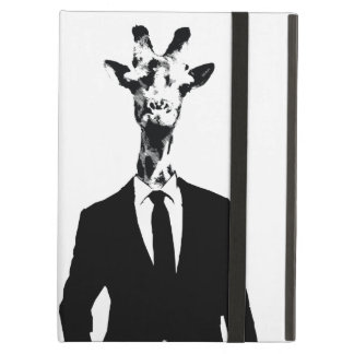 Mr Giraffe iPad Case with stand