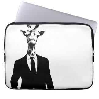 Mr Giraffe Laptop Cover