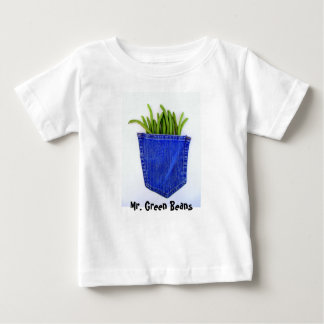 Mr. Green Beans Baby T-Shirt