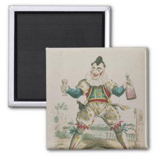 Mr. Grimaldi as Clown Magnet