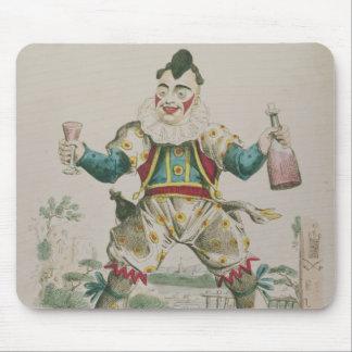 Mr. Grimaldi as Clown Mouse Mat