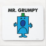 Mr Grumpy Classic Mouse Pad