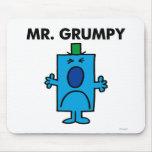 Mr Grumpy Classic Mouse Pad