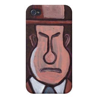 Mr Grumpy phone case iPhone 4 Cover
