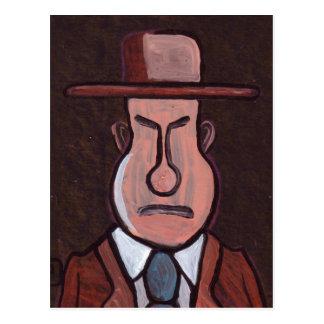 Mr GRUMPY Postcard