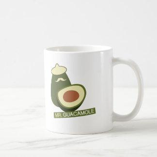 Mr. Guacamole Basic White Mug
