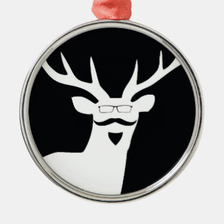 Mr Hanging Stag Christmas Ornament