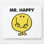 Mr Happy Classic 1 Mouse Pads