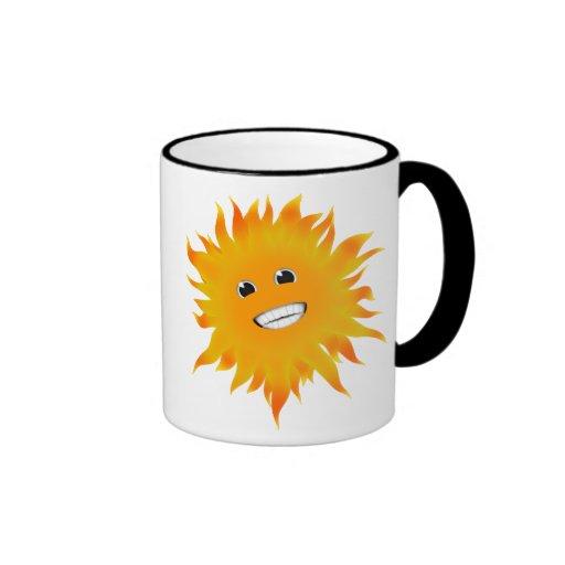 Mr Happy Sunshine Mugs